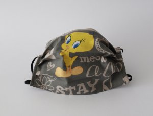 Bavlnené rúško vtáčik Tweety