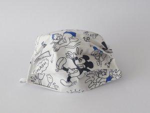 Biele rúško Mickey Mouse