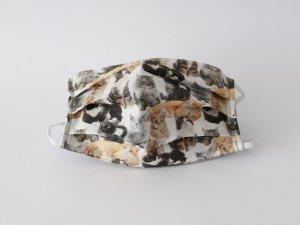 Bavlnené rúško realistické mačky