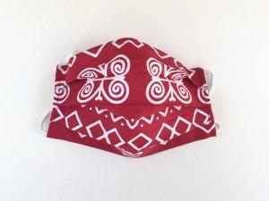 Červené rúško Čičmany (veľký vzor)