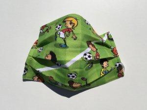Bavlnené rúško futbalisti (úplet)
