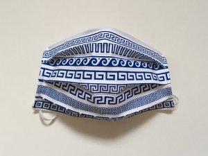 Bavlnené rúško s gréckym ornamentom