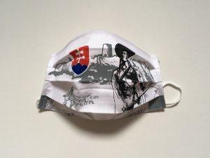 Rúško Jánošík so slovenským znakom