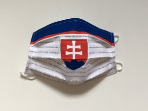 Rúško slovenský hokejový dres s hymnou