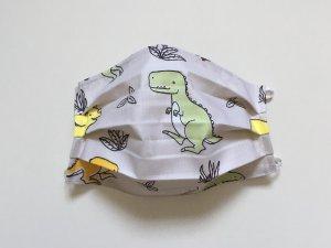 Bavlnené rúško s dinosaurami