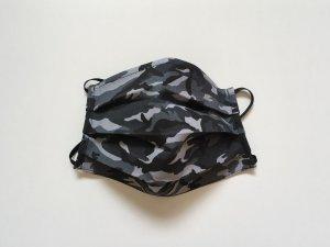 Vojenské maskáčové rúško šedé