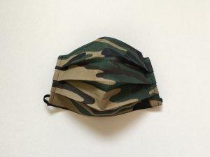 Vojenské maskáčové rúško zeleno-hnedé