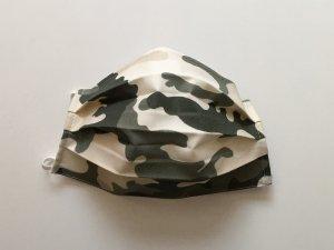 Vojenské maskáčové rúško zeleno-béžové