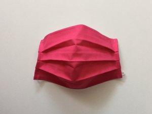 Ružové bavlnené rúško (popelín)