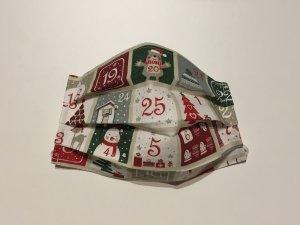Bavlnené rúško s adventným kalendárom