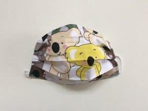 Bavlnené rúško s koalami